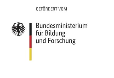Logo BMBF Gefördert Vom Deutschen Bundesminsterium für Bilgund und Forschung