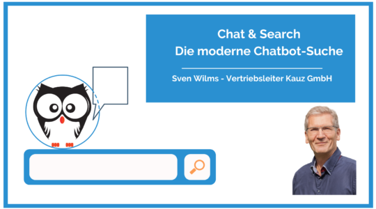 Chat Search Moderne Chatbot Suche