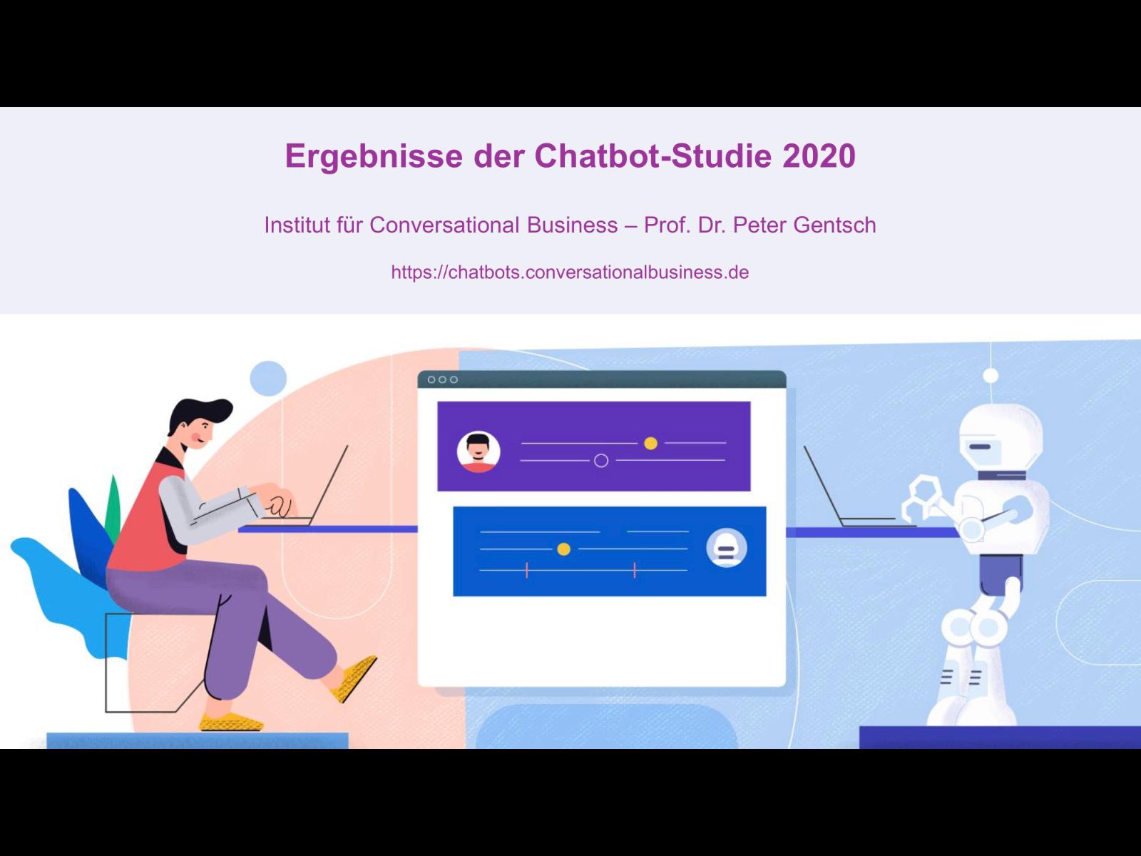ChatbotStudie 2020 Titelfolie