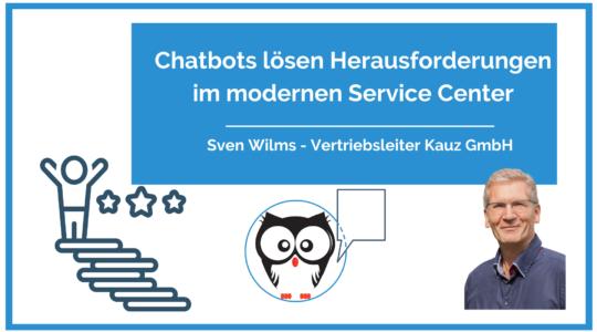 Chatbots loesen Herausforderungen Im Modernen Service Center