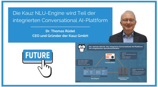 Die Kauz NLU Engine Wird Teil Der Integrierten Conversational AI Plattform