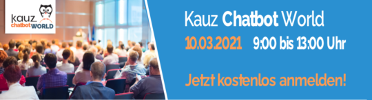 Kauz Chatbot World am 10.03. 2021