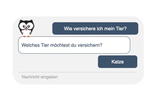 Chatbots für Versicherungen, Kauz Chatbots