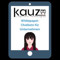 Whitepaper Chatbots für Unternehmen
