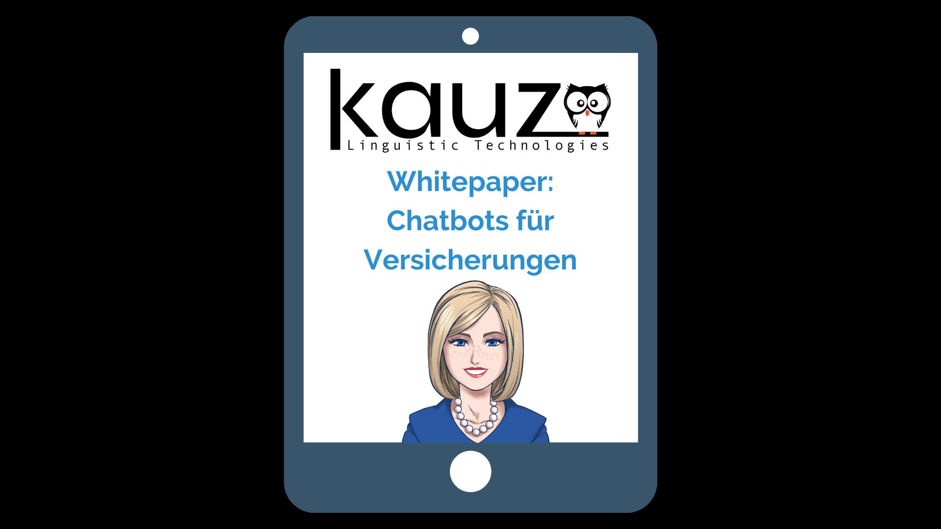 Whitepaper Chatbots für Versicherungen
