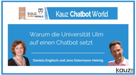 Warum Die Universität Ulm Auf Einen Chatbot Setzt