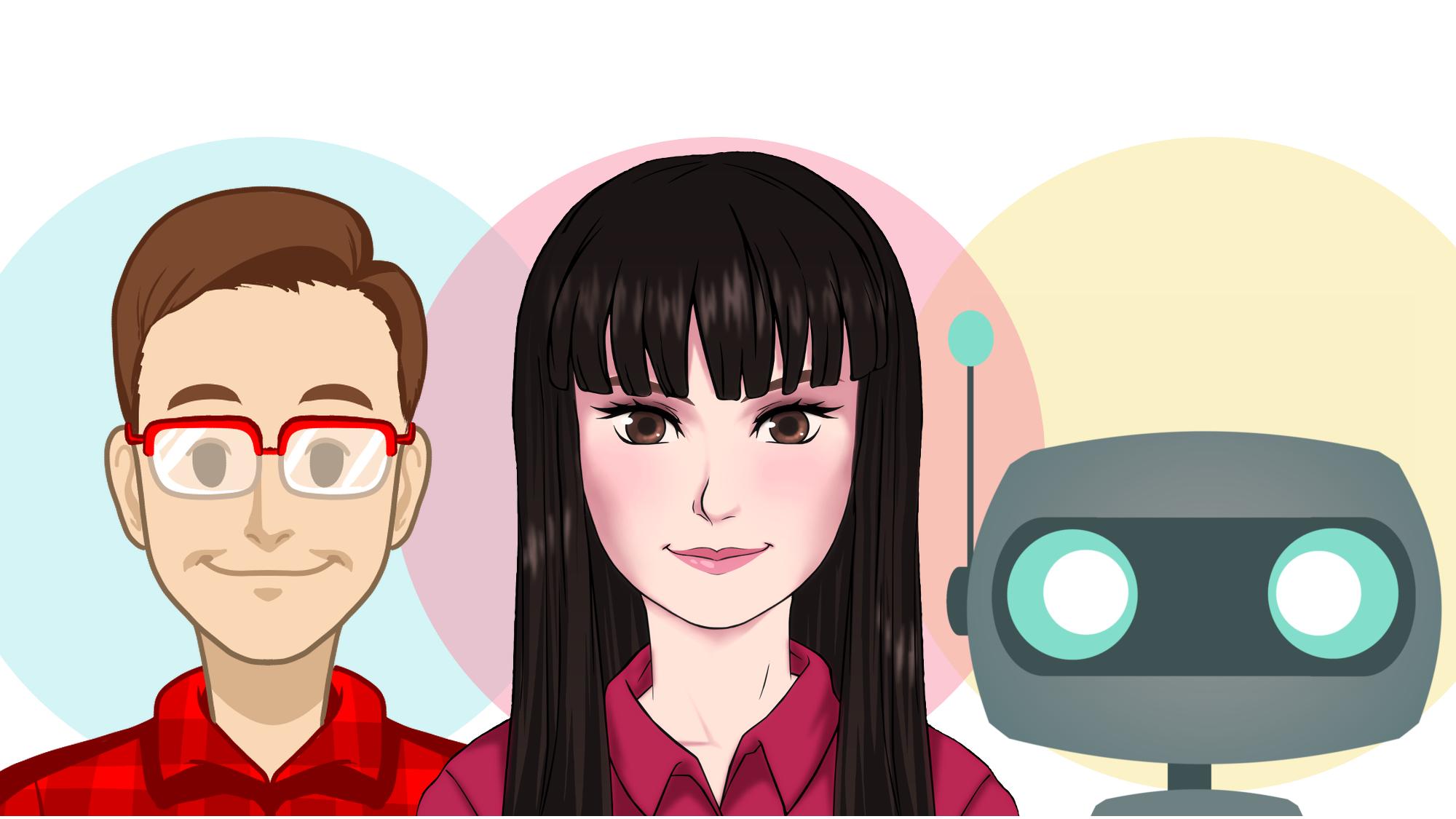 Chatbot Carla Roboter