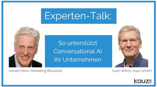 Experten Talk Conversational Ai Im Unternehmen