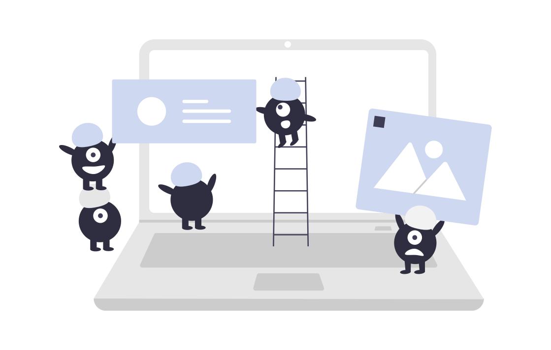 Chatbot Planung Laptop Baustelle